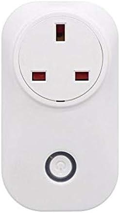 SONOFF S20 10A 2200W, Wifi, Wireless Remote Control Socket, Smart Timer Plug, Smart Home Power Socket, UK Standard, Via App Phone Support Alexa