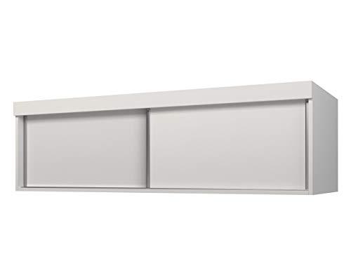 Mirjan24 Schrankaufsatz Toplo, Schrankaufsatz der Serie Toplo, Verschiedene Größen, Farbauswahl (Weiß, Modell: 150)