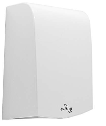 plikc EOLO Slim Asciugamani Elettrico a fotocellula ultrapiatto in ABS, (Bianco)