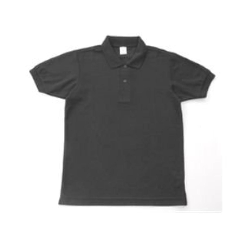 無地鹿の子ポロシャツ ブラック LL ファッション トップス ポロシャツ その他のポロシャツ 14067381 [並行輸入品]