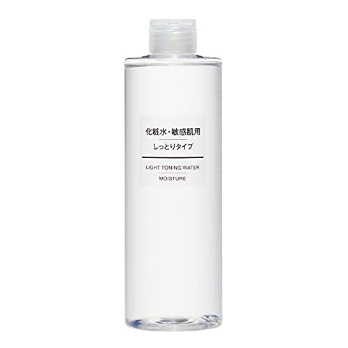 無印良品 化粧水 敏感肌用 しっとりタイプ 大容量 400mL 44294017 400ミリリットル (x 1)