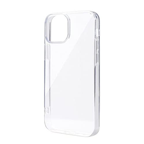 【Corallo】 iPhone13 mini 対応 ケース クリア ストラップホール 付き シンプル 透明 ソフト スマホケース 耐 衝撃 衝撃吸収 薄い クリアケース カバー 耐衝撃 透明ケース 薄型 スマホカバー [ iPhone13mini / iPhone 13 ミニ アイフォン 13mini 対応 ] NU CLEAR クリア
