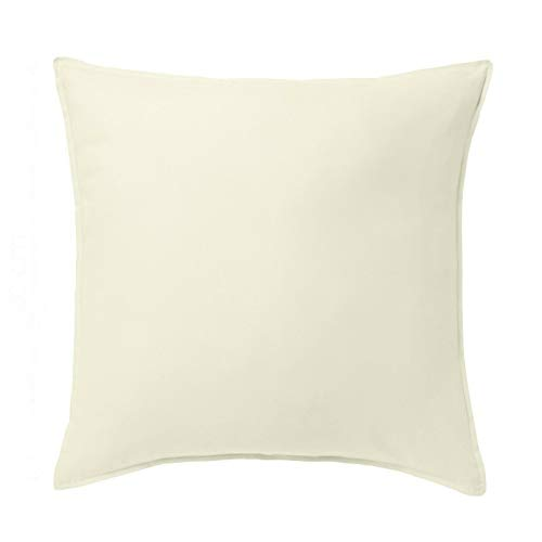 Office Sofa Cushion Cover Home Decor Pillow Case Off White