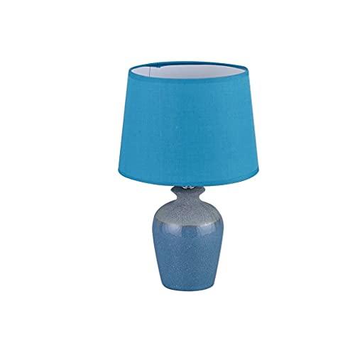 STERB Jarrón Cerámico Simple Lámpara De Mesa Dormitorio Personalidad Lámpara De Noche Barato Moderno Viento Enchufe Lámparas