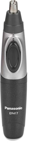 Panasonic ER417K44B Cordless Nose and Hair Battery Operated Ergonomic Design Trimmer