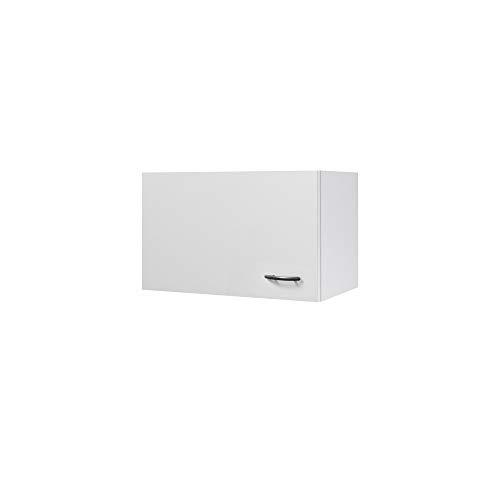 Flex-Well Küchen-Kurzhängeschrank UNNA - Oberschrank vielseitig einsetzbar - 1-türig - Breite 60 cm - Weiß
