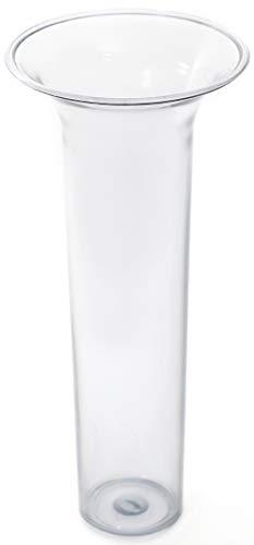 Novaliv Bodenvaseneinsatz 24x10,5 Kunststoffeinsatz für Bodenvase 24cm Kunststoff (1, 24x10,5)