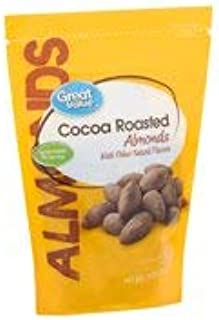 Great Value Cocoa Roasted Almonds, 14 Oz. (Pack of 1)