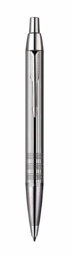 Parker IM Premium Shiny Chrome Chiselled Kugelschreiber, glänzend verchromt, gemeißelt