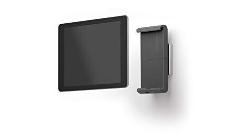 Durable 893323 Tablet Wandhalterung (für Tablets 7-13 Zoll, 360° drehbar mit Diebstahlsicherung) silber/anthrazit
