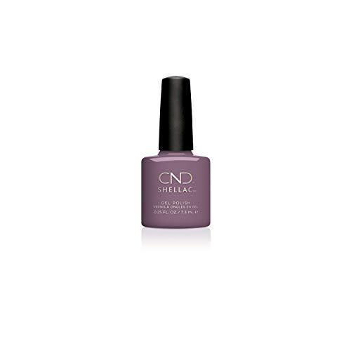 CND Shellac, Gel de manicura y pedicura (Tono Lilac Eclipse Nightspell) - 7.3 ml.
