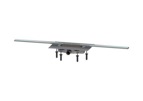 KESSEL Duschrinne Linearis Infinity 60 L: 1100 mm, DN 40, Edst. pol, Megastop 45301.11