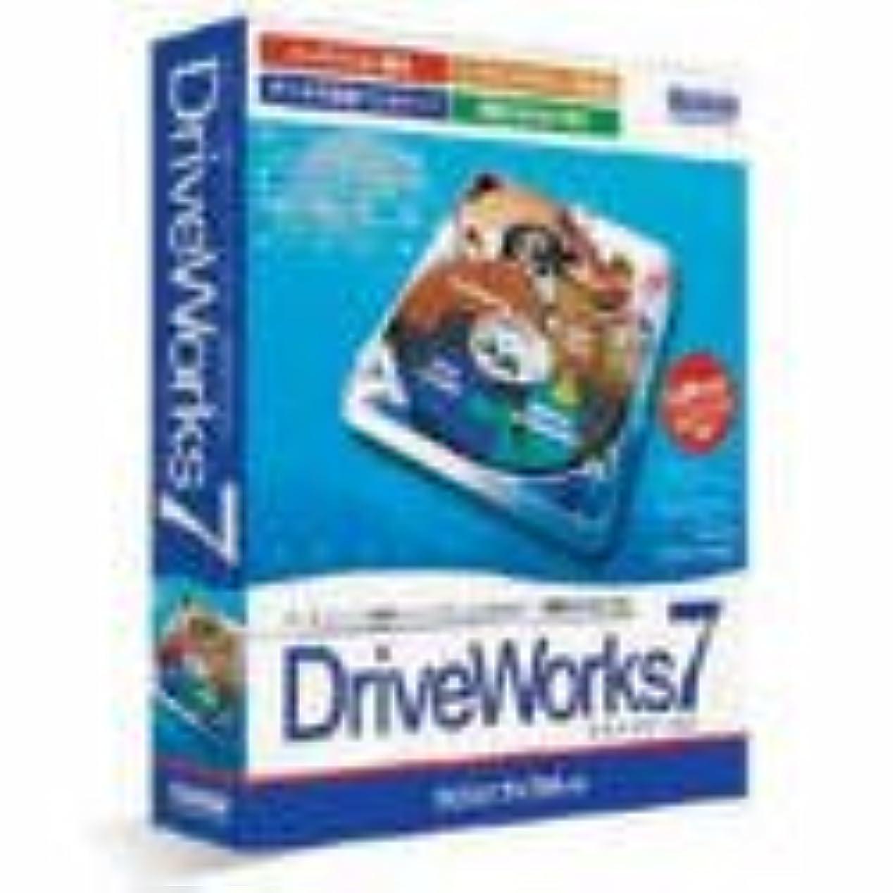 ラフチラチラする改善DriveWorks 7