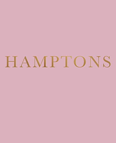 Hamptons: A decorative book for coffee tables, bookshelves and interior design styling | Stack deco books together...