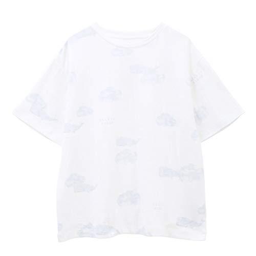 (ジェラートピケ)gelato pique レディース クジラモチーフTシャツ ジェラピケ パ(OW-オフホワイト、Free)