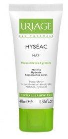 URIAGE HYSÉAC MAT' - Gel Crème matifiante hydratante 40ml - peaux mixtes à grasses