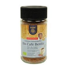 Gepa Premium Bio Café Benita Ontcoffeiniert - Instant koffie - 1 doos (6 x 100 g) Fair Trade koffie