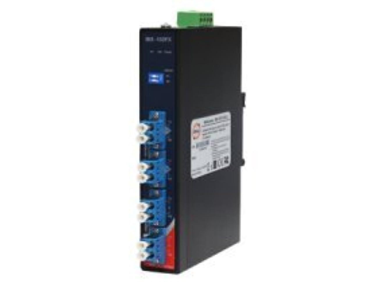 争う技術監督するORing 産業用光バイパススイッチ 2ポート LCコネクタ×4 シングルモードモデル IBS-102FX-SS-LC