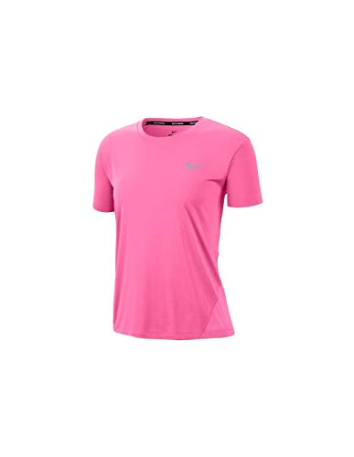 Nike Nike Miler AJ8121 607 - Camiseta de manga corta para mujer (talla XS)