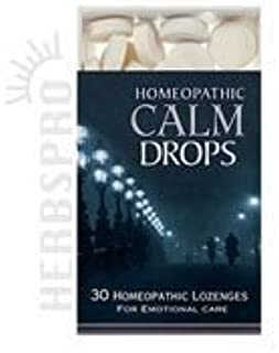 Historical Remedies Homeopathic Calm Drops, 30 LOZENGES (Pack of 3) by Historical Remedies