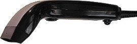 Albasca Black-Line USB Hand-Barcode-Scanner CCD Barcodescanner 82mm, 100 Scan/Sek. in schwarz