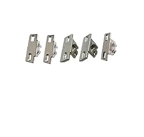 All available Compact 33 Mounting Plates from 1/4' to 1' Samples, For Blum Compact 33 hinges, 5 Plates