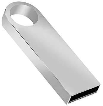 USB Flash Drive Waterproof USB Memory Stick Aluminum Pen Drive for PC Laptop Computers Tablet (1TB, silver-b)
