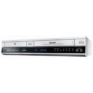 Toshiba D-VR 3 VHS y DVD Combo Recorder (Plata)