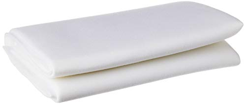 ByAnnie's Soft and Stable Fabric, 36 by 58-Inch, White
