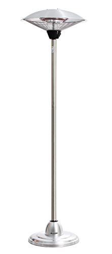 Haverland PH21 | Estufa Exterior por Infrarrojos | 3 potencias regulables 900-1200-2100W | Sistema antivuelco | Regulable en altura | Bajo consumo | Cable de 1,8 metros