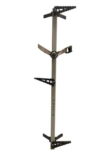 NOVIX NX-4PC Light Mountable Quiet Climbing Sticks, 4 Piece Set