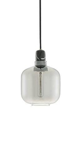 Normann Copenhagen Amp Lampe klein rauchschwarz Höhe 17 cm Pendelleuchte