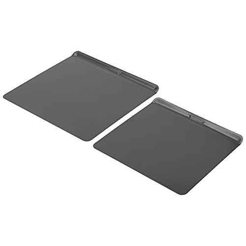 Good Cook AirPerfect 2-Pack Nonstick Cookie Sheets, Insulated Carbon Steel, Medium 14' x 12' and Large 16' x 14'