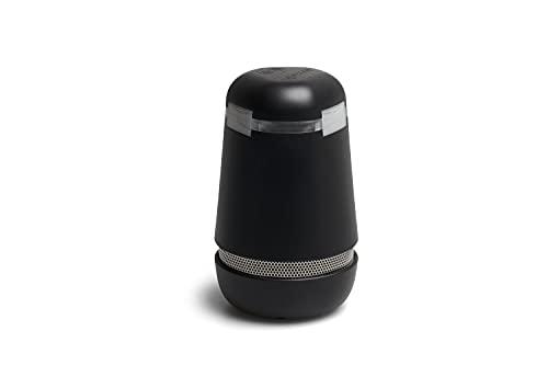 spexor - Mobile Alarmanlage von Bosch, Einbruchserkennung, Messung Luftqualität, Temperaturüberwachung, Smartphone-Benachrichtigung | Smart Home | kabellos | WLAN & Mobilfunk (schwarz)