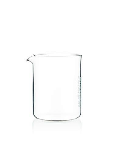 Bodum 1504-10 Spare Beaker Ersatzglas zu Kaffeebereiter 4 Tassen, 0.5 l, ø 9.6 cm, Höhe 12.5 cm