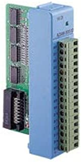 Advantech ADAM-5051D-BE 16-Ch DI Module w/LED, ADAM-5000 System can use The Module's Digital inputs to Determine The State of Limit or Safety switches or to Receive Remote Digital Signals.