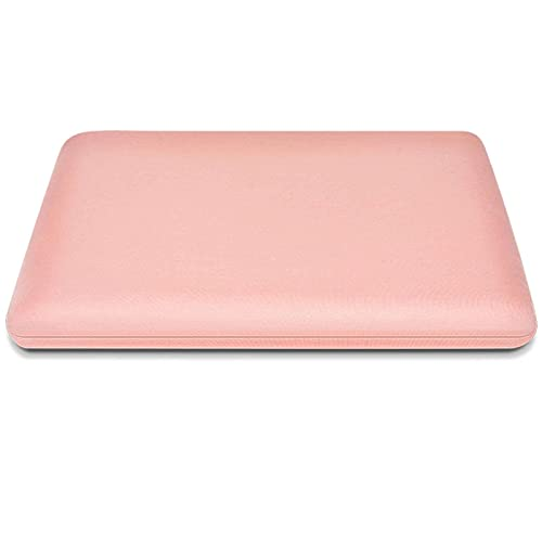 Memory Foam Cushion, Round Soft Comfortable Non-Slip Breathable Detachable Seat Cushion Chair Cushion for Living Room Kitchen Office-40x40x4cm(16x16x2inch)-Pink