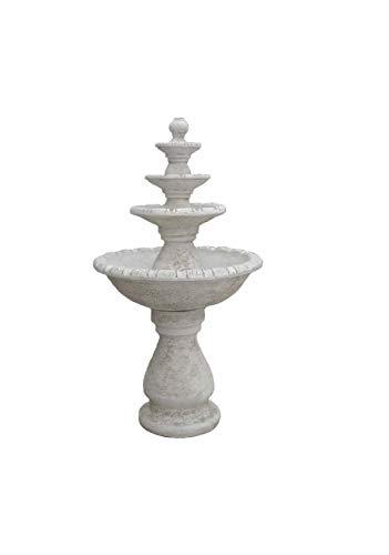 Antikes Wohndesign Steinbrunnen Springbrunnen Kaskade Zierbrunnen Brunnen Wasserspiel Gartenbrunnen