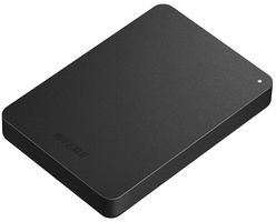 Buffalo MiniStation Safe HD-PNF2.0U3GB-EU 2TB externe Festplatte (2,5 Zoll, USB 3.0) schwarz
