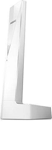 Philips Linea V M3501W - Teléfono inalámbrico diseño con Manos Libres, Bloqueo de Llamadas, Sonido Puro y Claro, Blanco