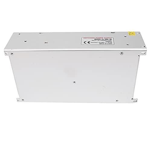 Controlador de fuente de alimentación de interruptor, controlador de tira de luz LED Aislamiento duradero para pantalla LED para ingeniería informática(S-600-48(48V/12.5A/600W) AC110/220V±15%, pink)