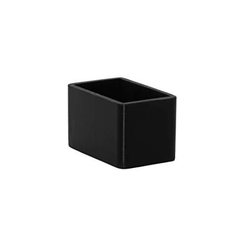 Flyshop 8 pezzi tappi per gambe della sedia antiscivolo in silicone protezioni per pavimenti rettangolari per mobili da tavolo (30 x 50 mm), 1-3 16  X 2