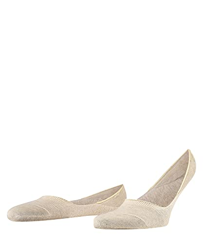 Falke Invisible Step M IN Calcetines, OPACAS, Beis (Sand Melange 4650), 45-46 para Hombre