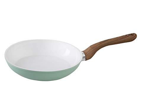 wenco Bratpfanne mit Keramik-Beschichtung, Geeignet für Induktionsherde, Ø 28 cm, Aluminium, Professional, Weiß/Schwarz, 539630