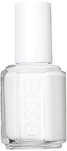 Essie Nagellack für farbintensive Fingernägel, Nr. 1 blanc, Weiß, 13,5 ml
