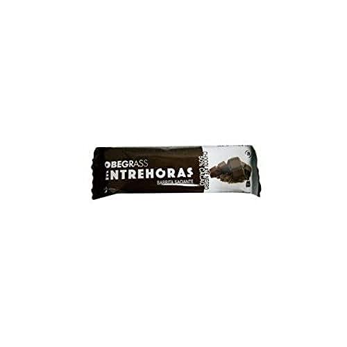 Actafarma Obegras Barritas Entrehoras Chocolate Negro - 20 unidades