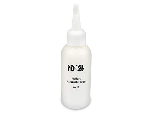 Nailart Airbrush Farbe Weiß - Nail Art Nagel-Design