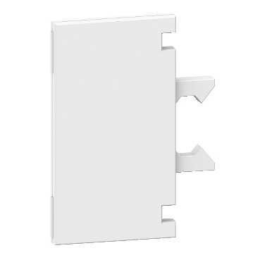 Schneider NSYCDL Schildträger, Kunststoff, durchsichtig. Inkl. Papiereinsatz. VPE: 50
