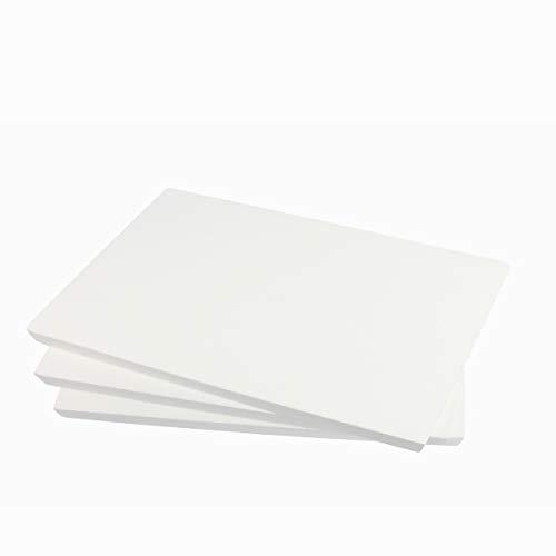 ZADAWERK® Styroporplatten - 30x42x1 cm - DIN A3-3 Stück - Isolierung - Wand