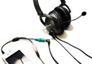 Headset Buddy MoovMic Plus Detachable Boom Microphone [with PC to Smartphone Adapter] (MM3502)